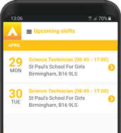 time and attendance app